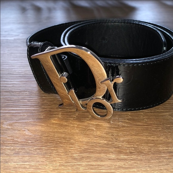 ed0dc5f8fb8a Dior Accessories - Christian Dior Black Belt